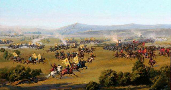 Lord Yexian and the Oriats Mongols
