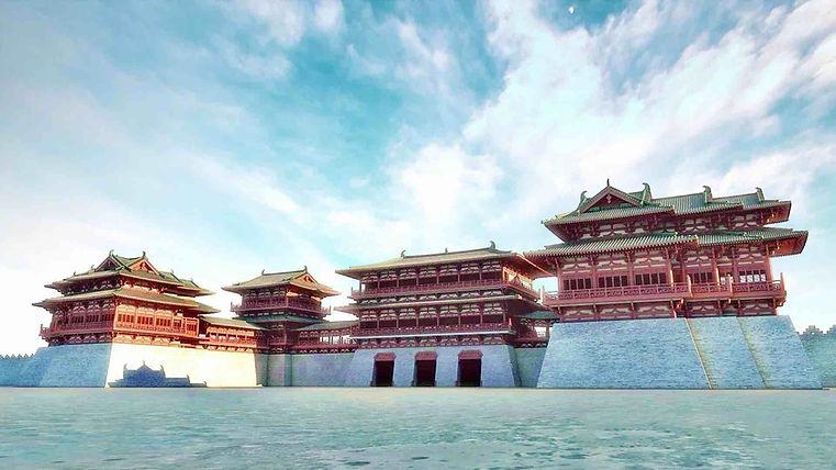 Restored Yingtian Gate Complex of the Ziwei Palace