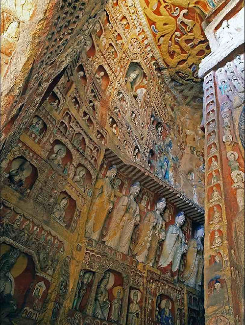 Costume and Artistic Decorations in Yungang Grottoes