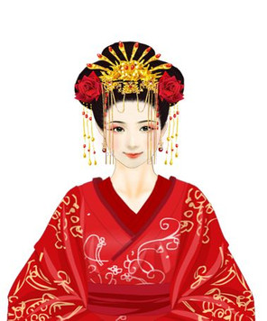 Wei Zifu the Beautiful queen of Han Dynasty