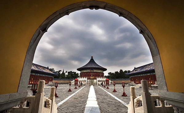 Huangqiongyu or Imperial Vault of Heaven of the Temple of Heaven