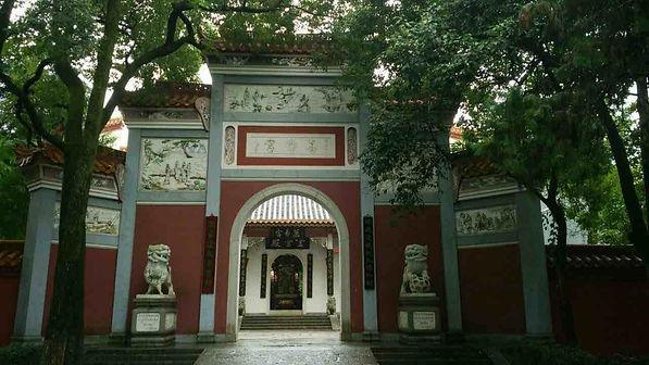 Wanshou Palace inside of the Nanyue Temple of Mount Heng in Hunan.