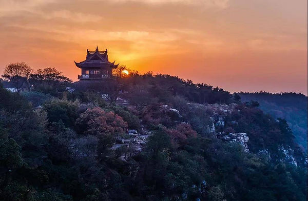 Beautiful View of Yushan Area, Photo from Official Site of Changshu City.