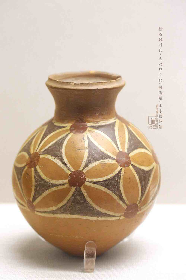 Painted Pottery Jar — Shandong Museum