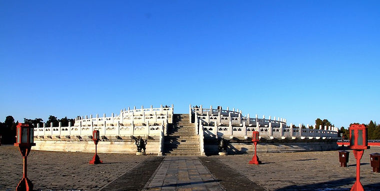 Yuanqiu or Circular Mound Altar of the Temple of Heaven