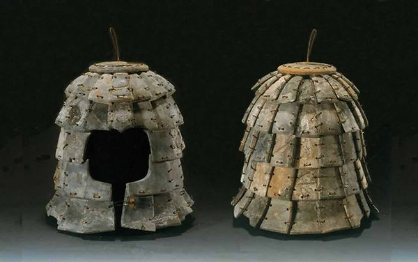Helmet Unearthed from one of Qin Shi Huang's Funerary Pits