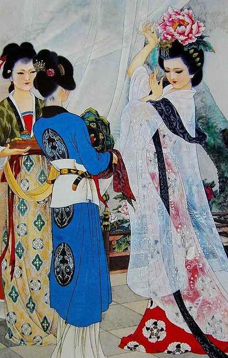 Yang Guifei or Yang Yuhuan of the Tang Dynasty