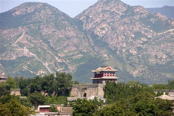 Shanhai Pass of the Great Wall of China