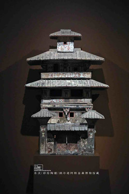 Painted Pottery Building of the Eastern Han Dynasty — Nelson-Atkins Museum of Art