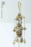 Gold Eardrop of the Qing Dynasty — Ningxia Museum