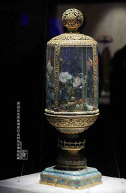 Cloisonné Palace Lantern of the Qing Dynasty — Shenyang Palace Museum