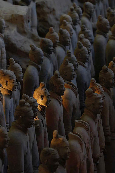 Terracotta Warriors of the Mausoleum of First Qin Emperor