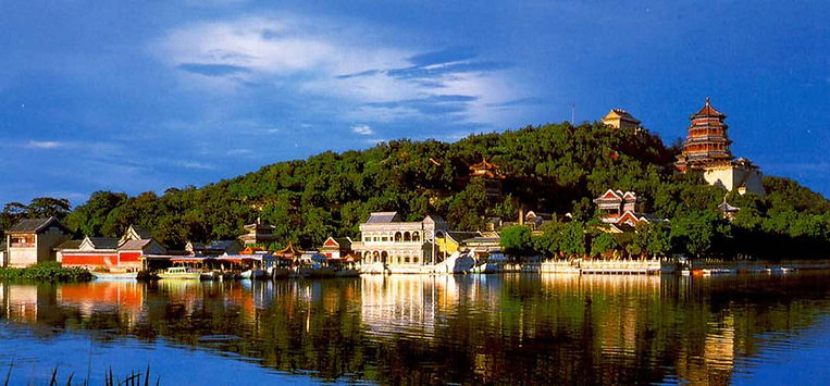 Natural View and Buildings of the Summer Palace