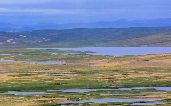 Stars Sea (Xingxiu Hai) in Source Area of Yellow River