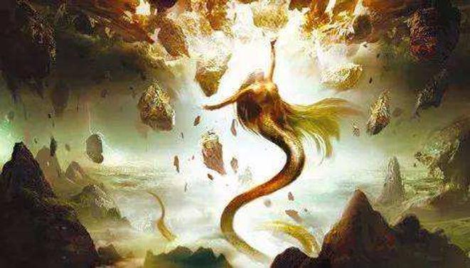 Nv Wa Fixing the Broken Sky in Chinese Mythology