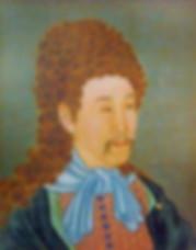 Emperor Ying Zhen or Qing Shi Zong or Yong Zheng of Qing Dynasty in History of China in suit