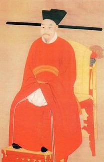 Emperor Zhao Shen or Song Xiao Zong of Song Dynasty in History of China