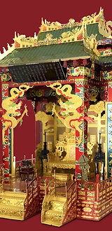 Imperial Throne in Hall of Supreme Harmony 3D Metal Puzzle Model