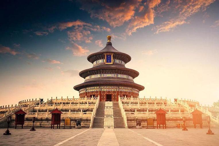 Qi'nian Dian on the Qigu Altar of the Temple of Heaven or Tiantan in Beijing