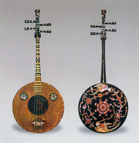Chinese Musical Instrument Ruan of the Tang Dynasty (618 — 907)