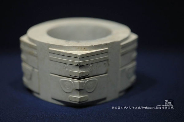 Ritual Jade Cong of Liangzhu Culture (about 3300 — BC 2000 BC) that Originate in Taihu Lake Area