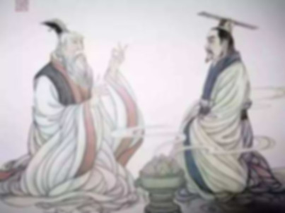 Lord Ji Chang visiting mysterious Jiang Shang