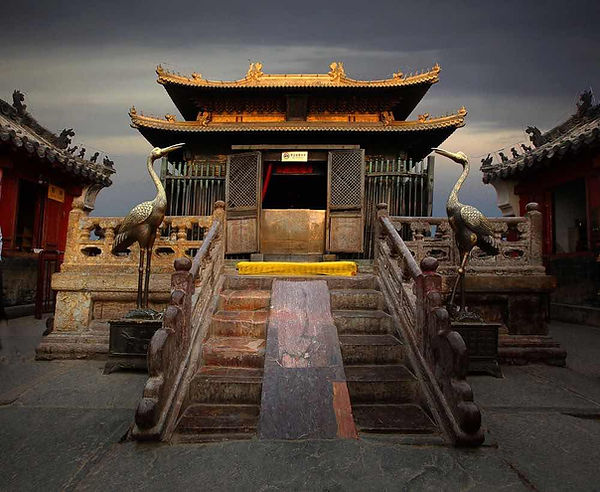 Golden Hall or Jindian of Wudang Mountains
