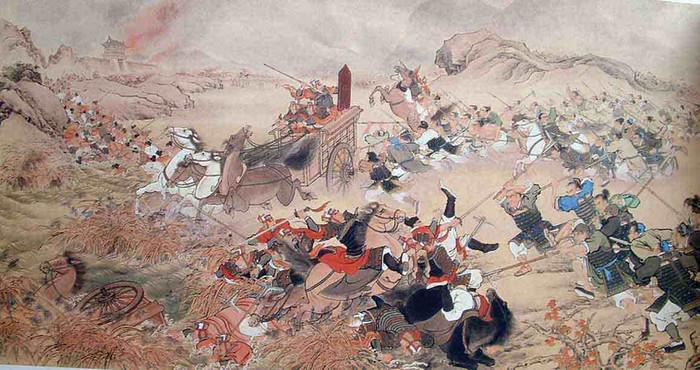 King Fu Jian on Battlefield