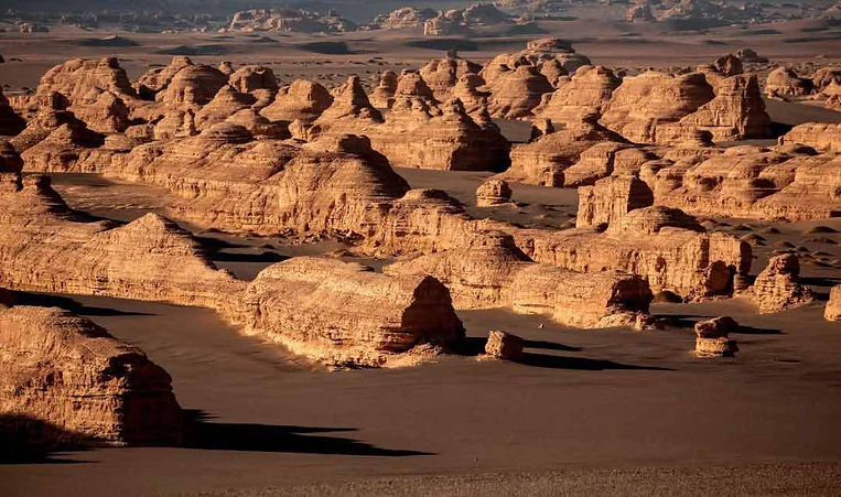 Dunhuang Yardang National Geopark or Ghost City