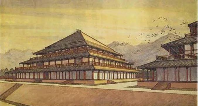 Restoration Map of Zhou Dynasty's Palace