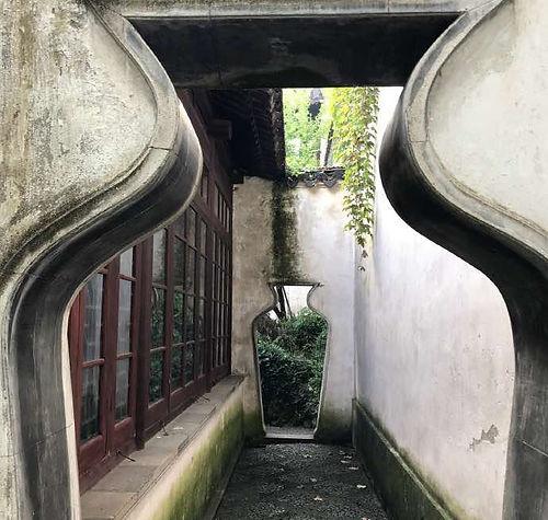 Artful Arch Doors of the Lingering Garden