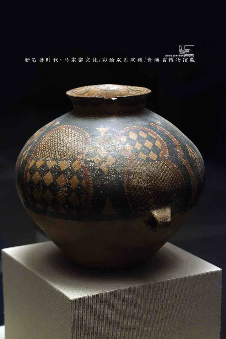 Pottery Jar with Colorful Painting — Qinghai Museum