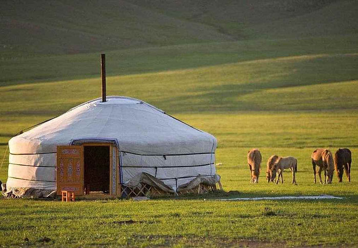 Traditional Yurt in Inner Mongolia