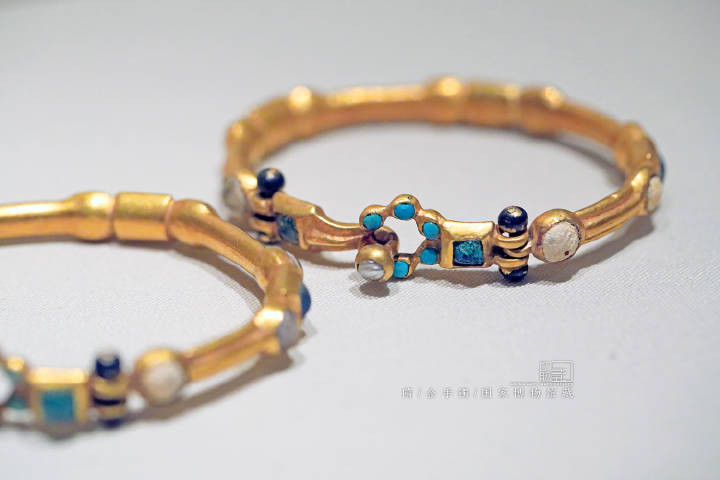 Gold Bangle of the Sui Dynasty (589 — 619) — National Museum of China (Photo by Dongmaiying)
