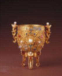 Golden Gem Cup of Emperor Qian Long (1711 — 1799)