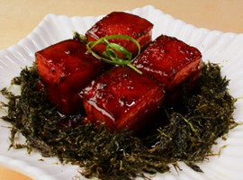 Dried Sea Grass Grilled Pork Belly
