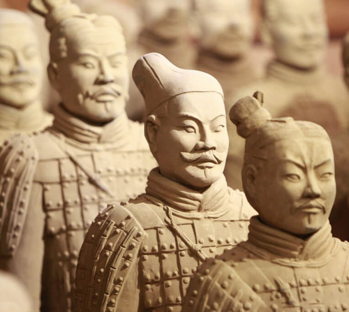 The Hairstyle of Soldiers in the Terracotta Army
