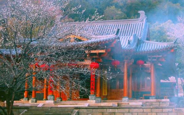 Taoist Temple Zhizhi An of Mount Wuyi