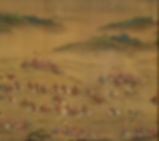 "Cavalry Army in the Painting ""Ping Fan De Sheng Tu"" that Described A Military Victory in 1575 Under the Reign of Wanli Emperor"