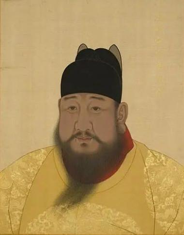 Portrait of Xuande Emperor Zhu Zhanji