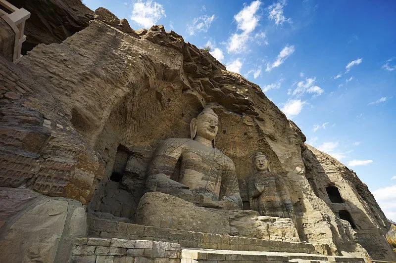 Yungang Grottoes by Official Site of Yun