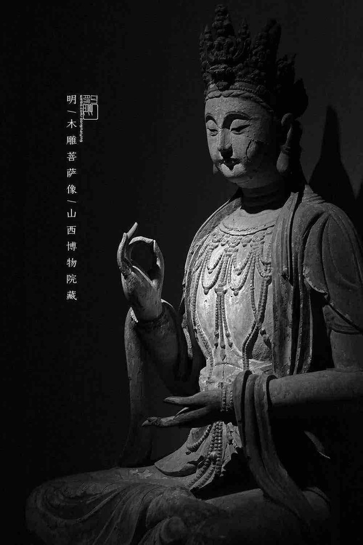 Wooden Carved Statue Buddha of the Ming Dynasty — Shanxi Museum