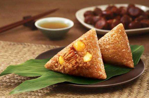 Zongzi or Rice Dumplings, the traditional food of Dragon Boat Festival in China