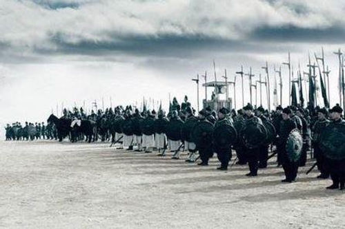 Well trained troop of the State Qin