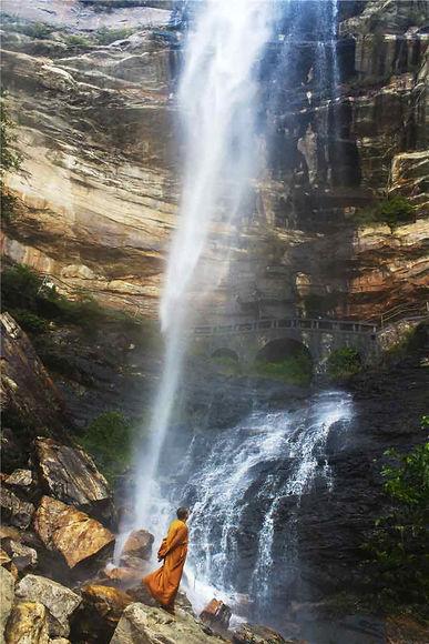 Luya Waterfall of Mount Song