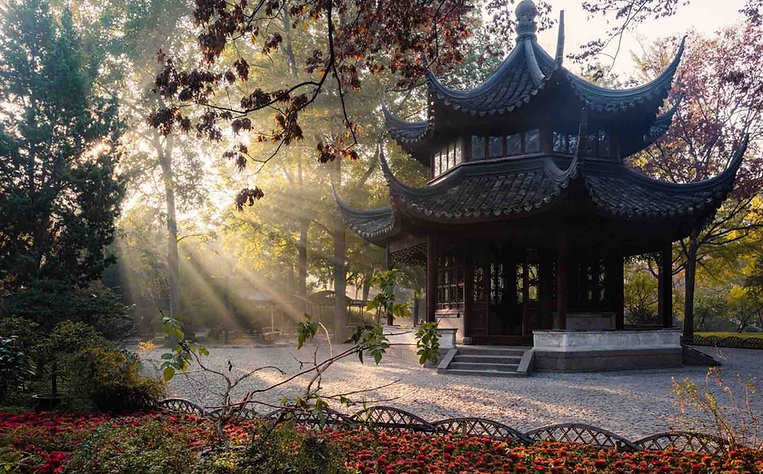 Artful Pavilion of Humble Administrator's Garden