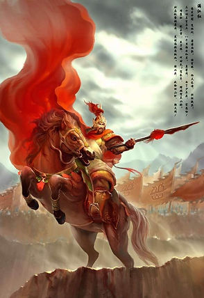 Heroic General Yue Fei of Song Dynasty in History of China