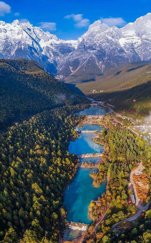 Blue Moon Valley or Lanyue Gu of Lijiang