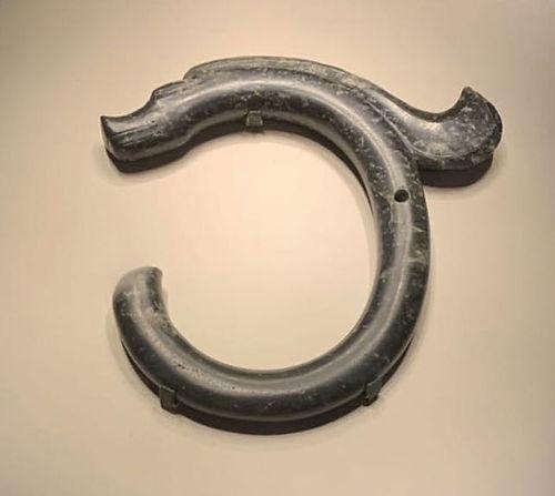 Jade Dragon of Hongshan Culture (Around 4000 BC — 3000 BC)