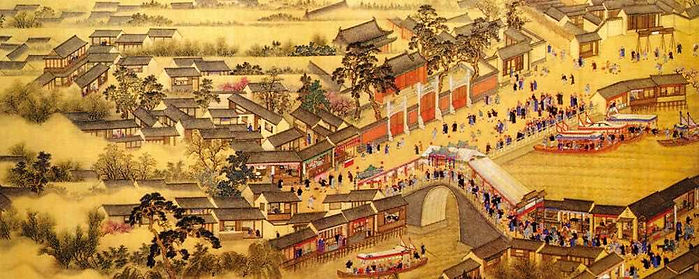 Canal and Fabulous City of the Sui Dynasty